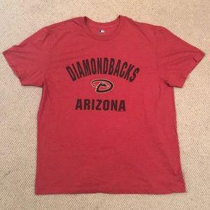 Majestic Arizona Diamondbacks T shirt. Size XL